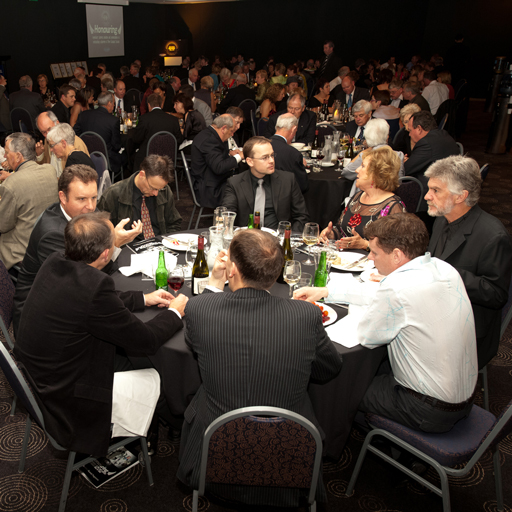 Ten NZ National Champions present at Squash NZ Hall of Fame Dinner